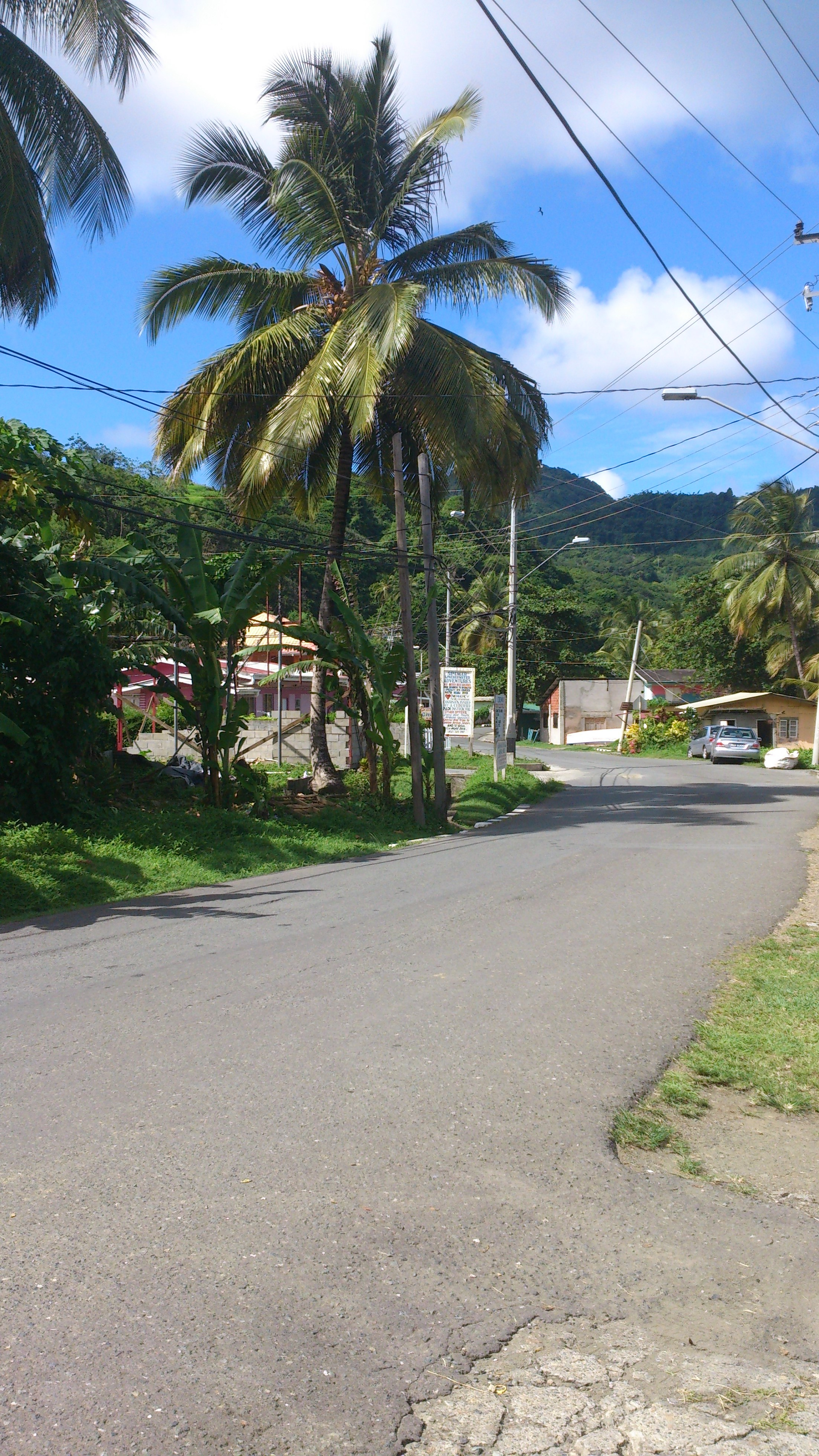 Streetview in Speyside
